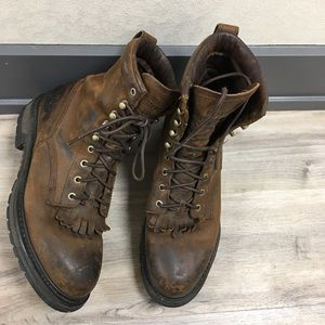 Men's Rocky Ride Boots 2724 Size 11M